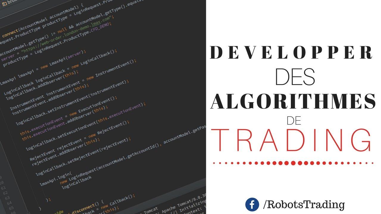 Apprendre À Programmer Ses Algorithmes de Trading