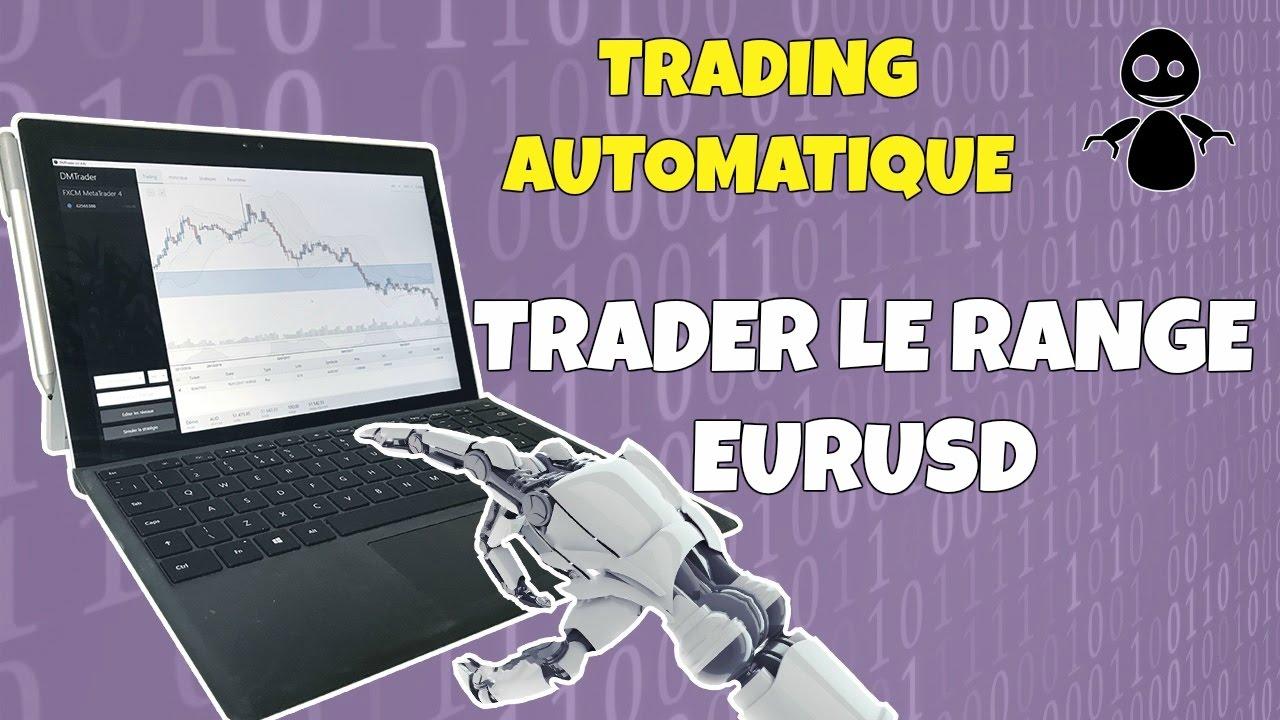 Corrections des Trades Sur Le Range Eurusd (trading Automatique)