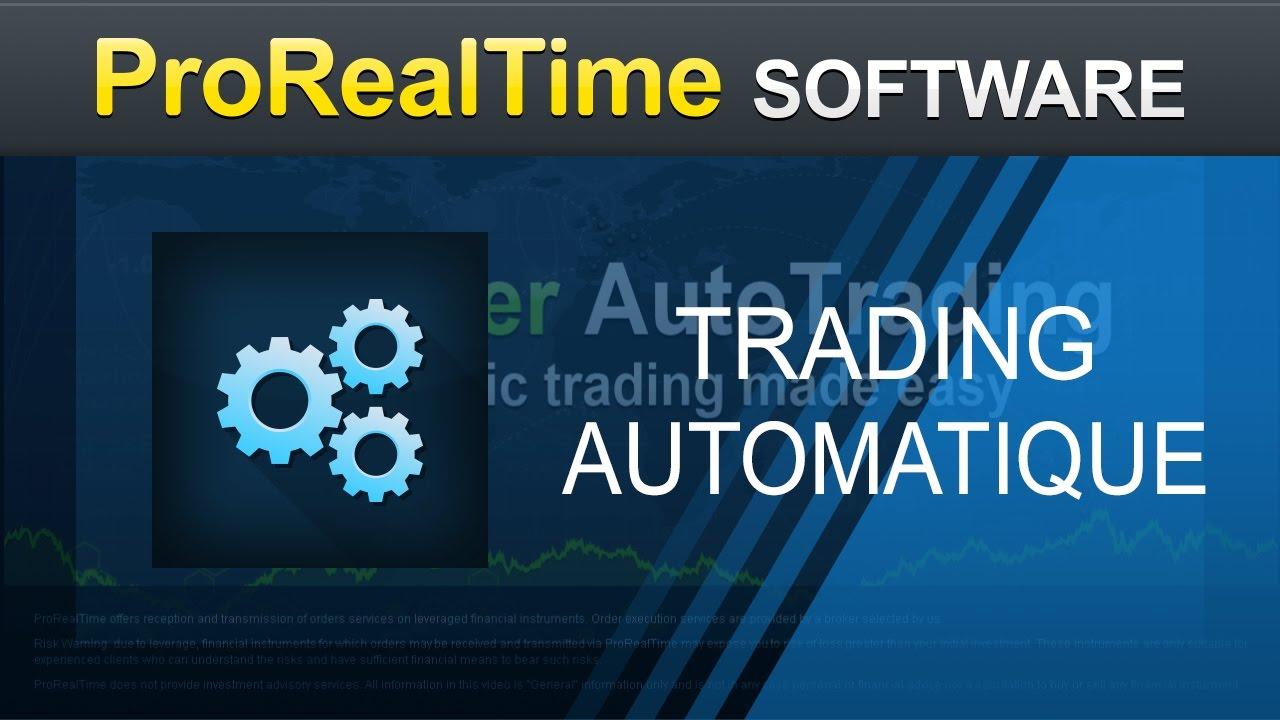 Le Trading Automatique Avec Proorder