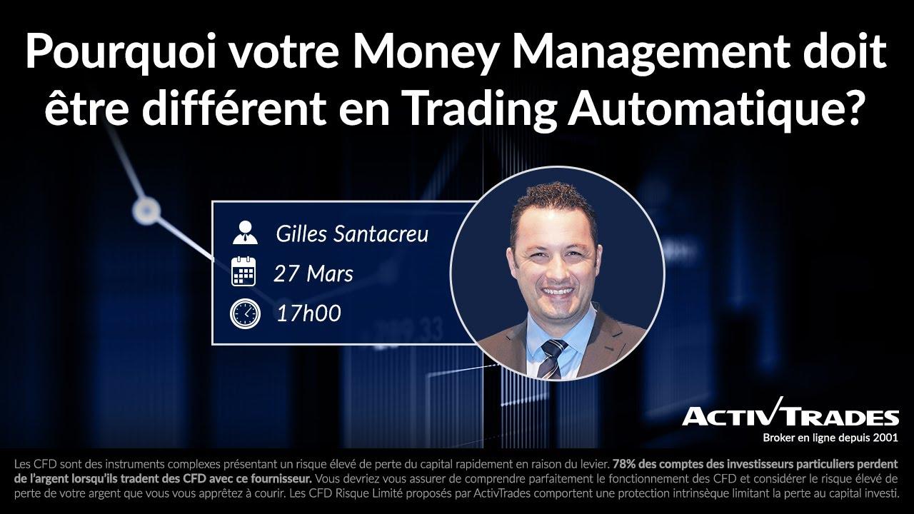 Pourquoi Votre Money Management Doit Être Différent en Trading Automatique